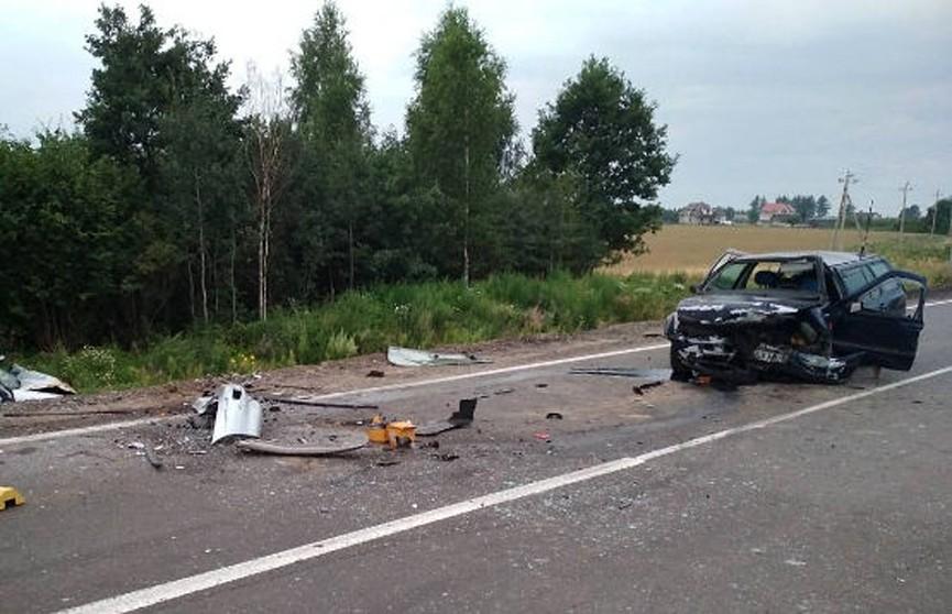 ДТП под Лидой: четверо человек пострадали