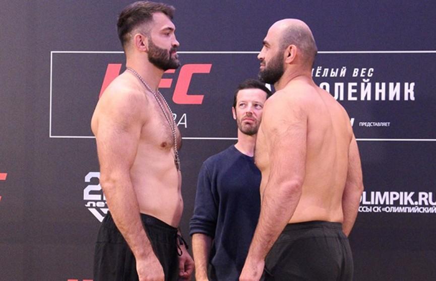 Белорусский боец UFC Андрей Орловский проиграл Шамилю Абдурахимову из России