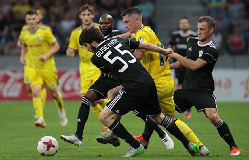 Лига чемпионов: БАТЭ выбил азербайджанский «Карабах» и сыграет с ПСВ в плей-офф квалификации
