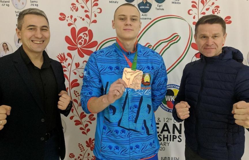 Белорус Никита Гайко стал бронзовым призером чемпионата Европы по каратэ