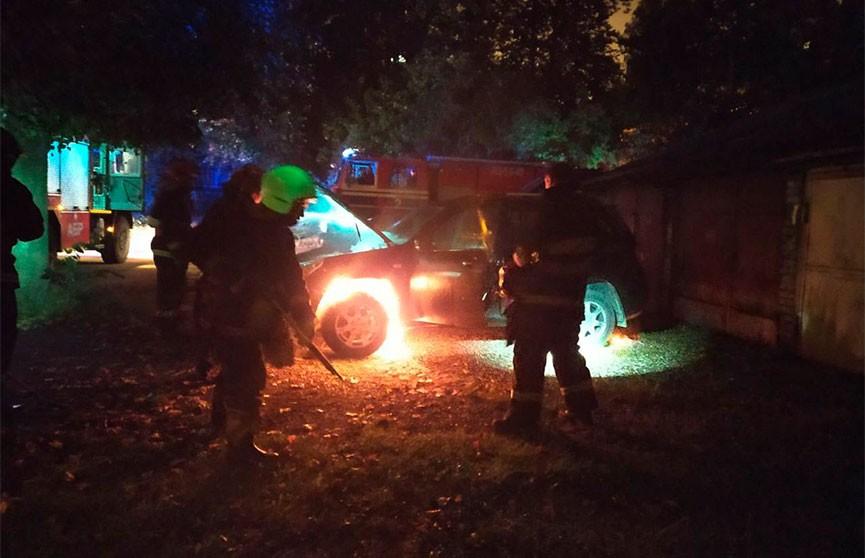 В Минске журналисту подожгли автомобиль