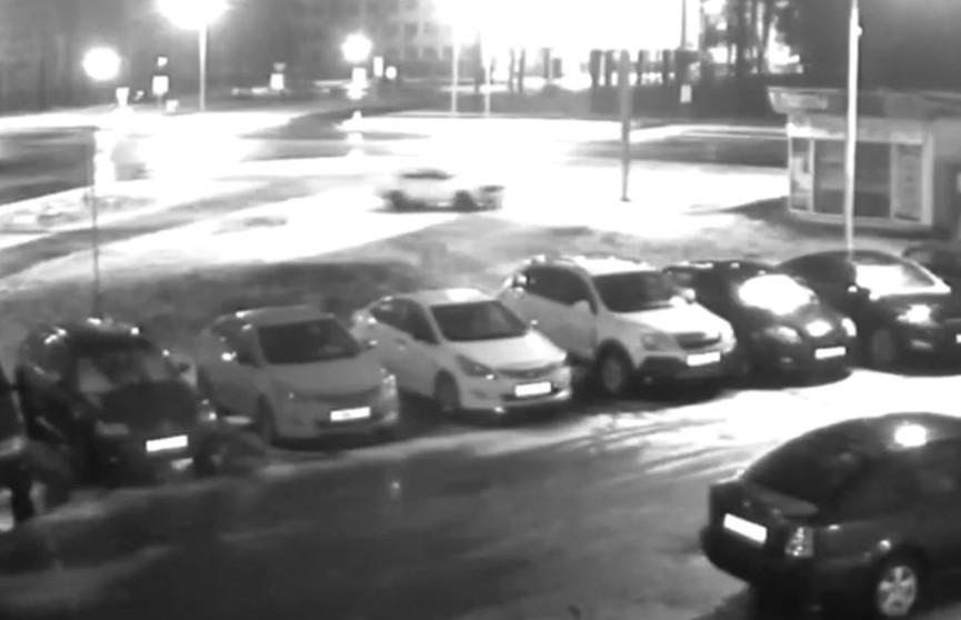 Дрифт на угнанном авто устроили двое жителей Могилёва