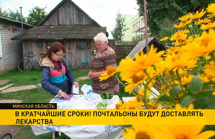 Лекарство по почте? В Минской области запустили необычный эксперимент