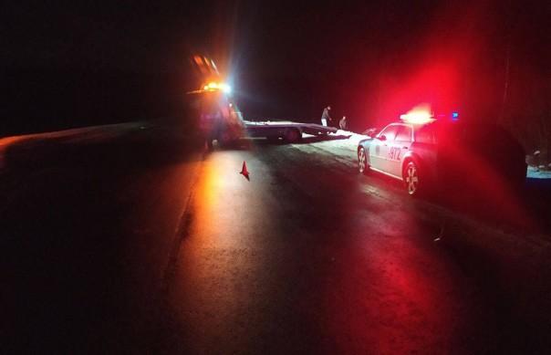 Кроссовер съехал в кювет и опрокинулся в Могилевском районе: травмирован пьяный водитель