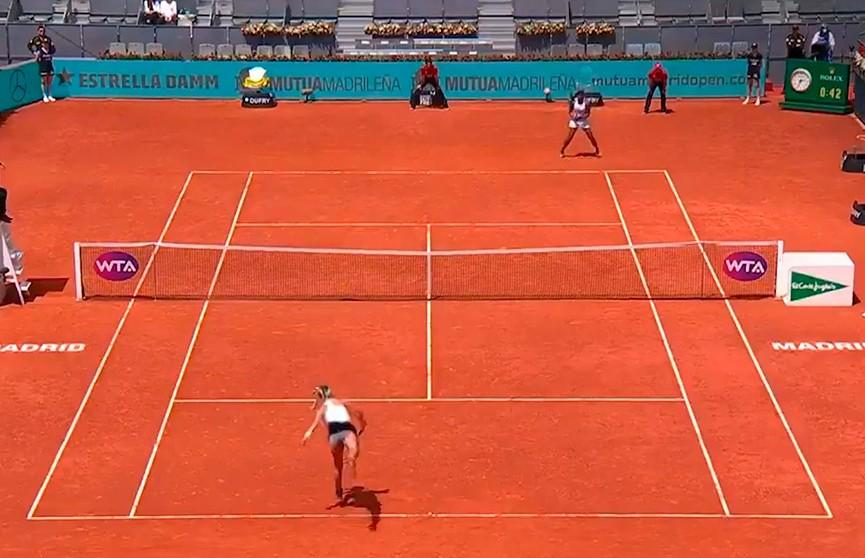 Виктория Азаренко не смогла пробиться в третий круг теннисного турнира в Мадриде