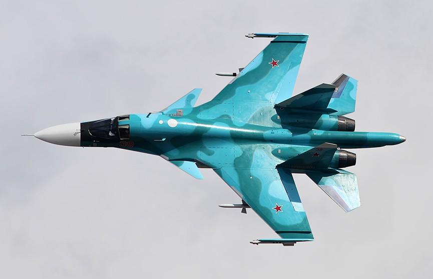 Истребитель Су-34 потерпел крушение над Японским морем: оба лётчика выжили