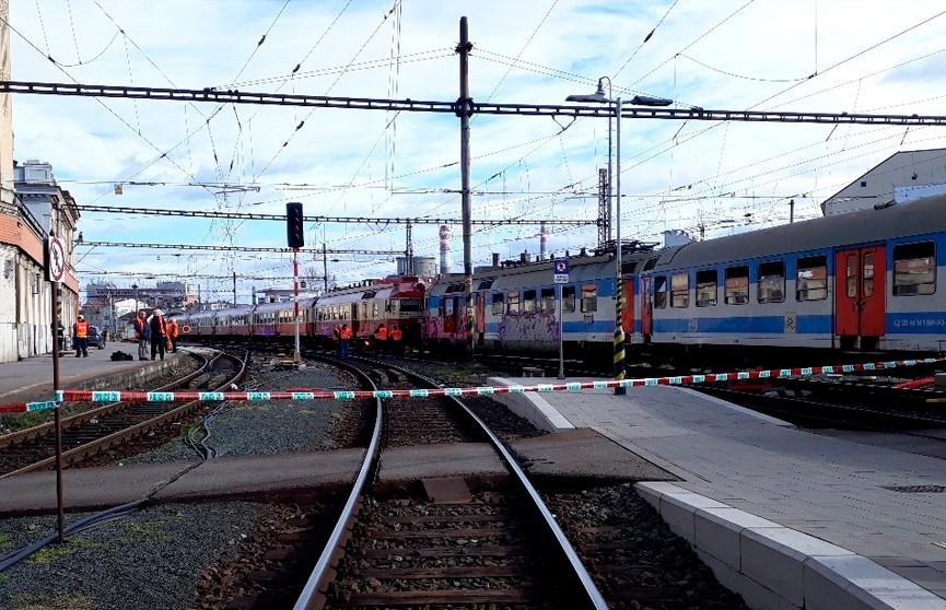 Столкновение поездов в Чехии: более 20 человек пострадали
