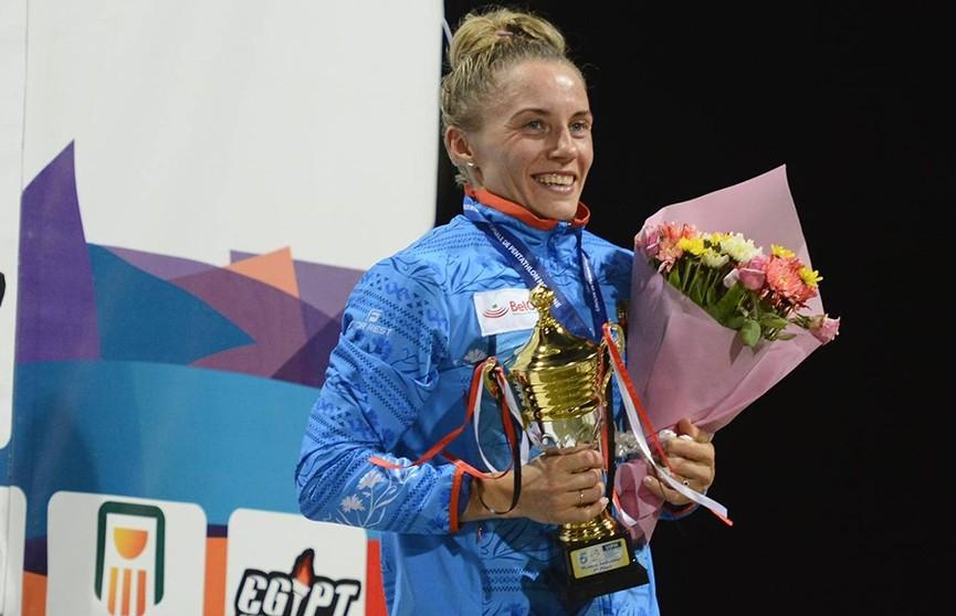 Анастасия Прокопенко и Ирина Просенцова завоевали золотые награды чемпионата мира по современному пятиборью в Мехико