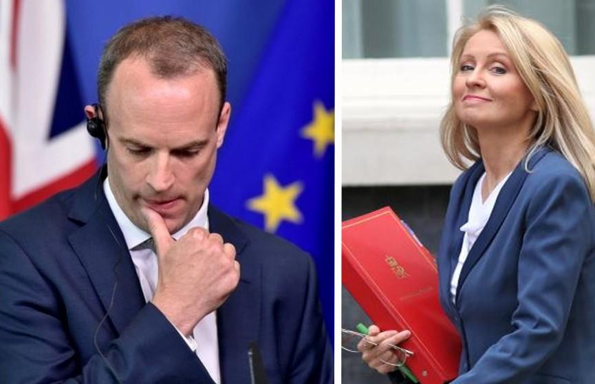 День отставок: сразу два британских министра сложили полномочия