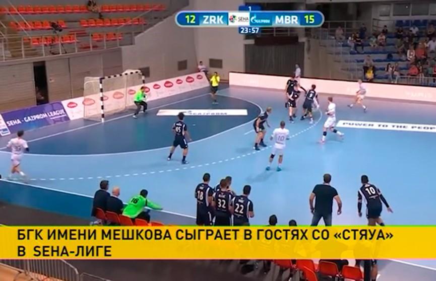БГК имени Мешкова сыграет в гостях со «Стяуа» в SEHA-Лиге
