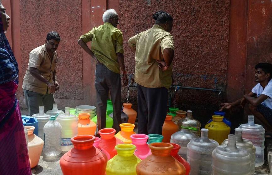 9-миллионый город в Индии несколько недель живёт без воды