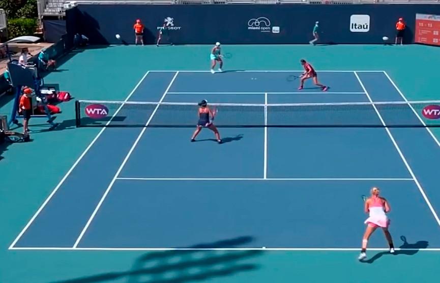 «Белорусский полуфинал» ждёт зрителей на теннисном турнире в Майами