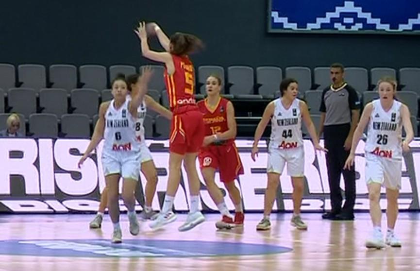 Баскетбол: невероятный камбэк белорусок на чемпионате мира (U-17)