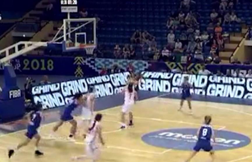 Белоруски не смогли пробиться в четвертьфинал юниорского ЧМ по баскетболу