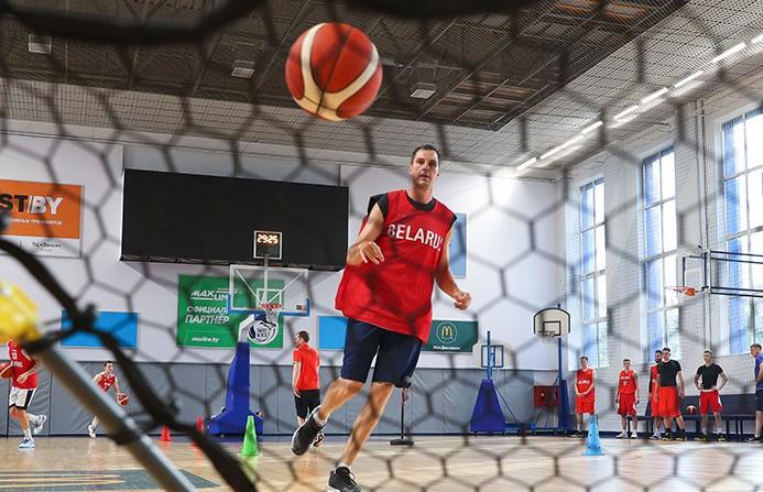 Белорусские баскетболисты готовятся к матчам преквалификации ЧМ-2023 против соперников из Албании и Кипра