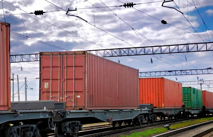 Первый контейнерный поезд отправился из Беларуси в Румынию