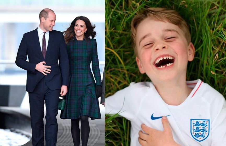Кейт Миддлтон растрогала подписчиков новыми очаровательными фото принца Джорджа