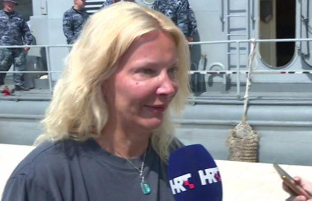 Британка выжила, проведя в воде 10 часов после падения с корабля