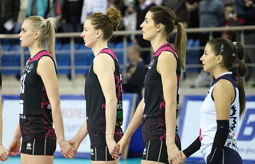 «Минчанка» победила «Протон» на старте домашнего волейбольного тура соревнований суперлиги чемпионата России