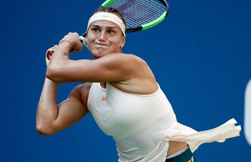 Арина Соболенко вышла в четвертьфинал турнира в Тяньцзине