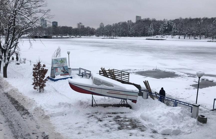 Где в Минске окунуться на Крещение