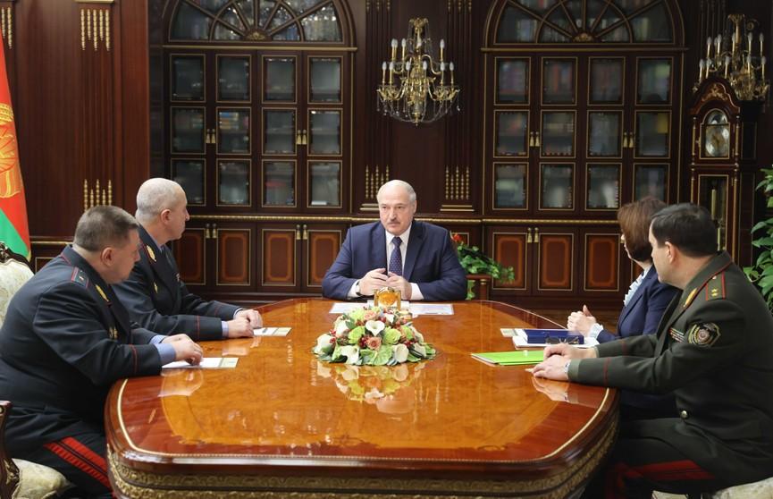 Александр Лукашенко назначил новых помощников в регионах и министра внутренних дел