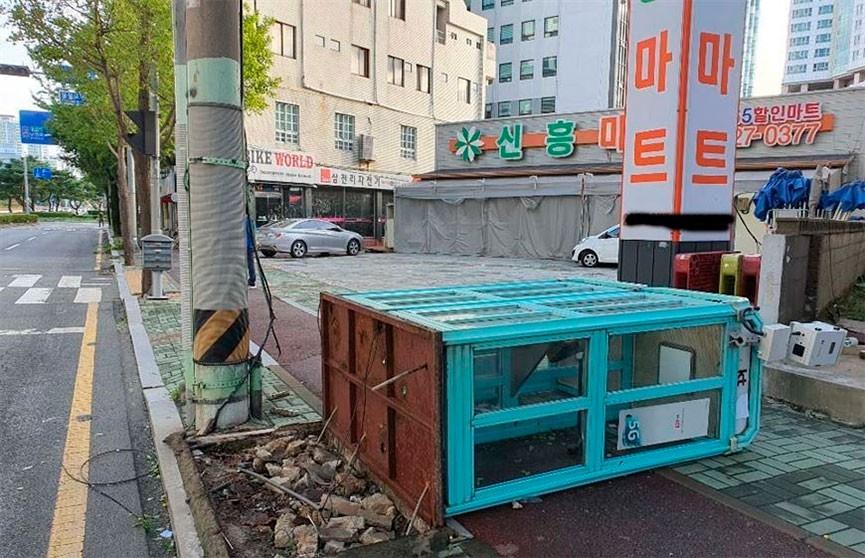 Тайфун «Майсак» обрушился на Южную Корею, два человека погибли