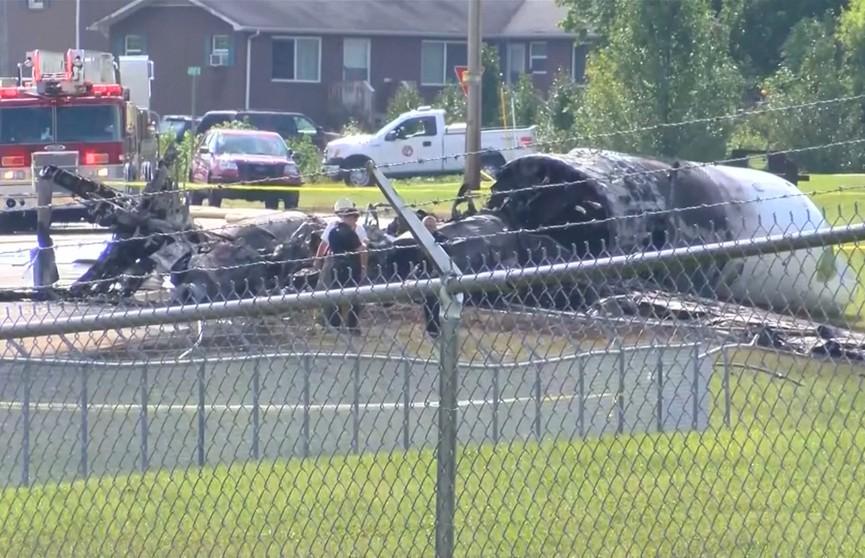 Легкомоторный самолёт разбился в США