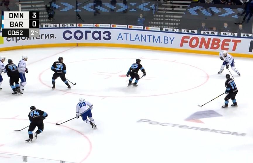 Хоккеисты минского «Динамо» примут команду из Уфы в чемпионате КХЛ