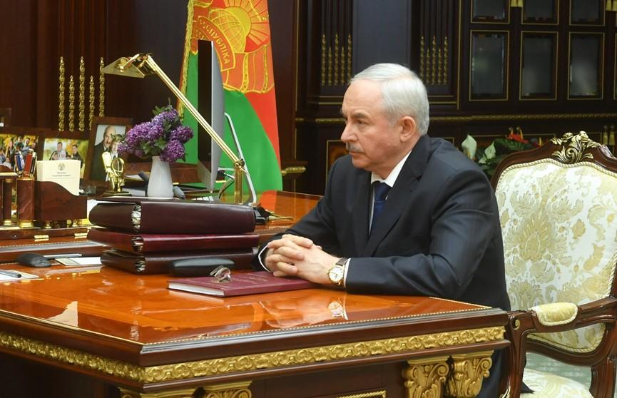 Александр Лукашенко принял с докладом Виктора Шеймана