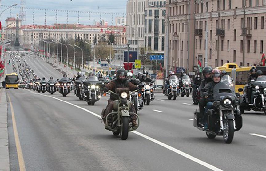 Мотосезон в Минске начнётся с красочного представления