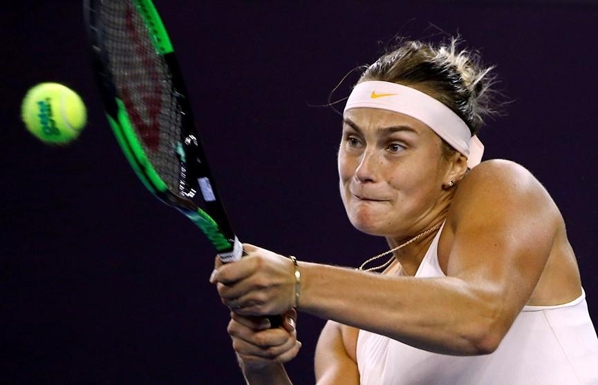 Соболенко победила на турнире WTA Elite Trophy в Китае