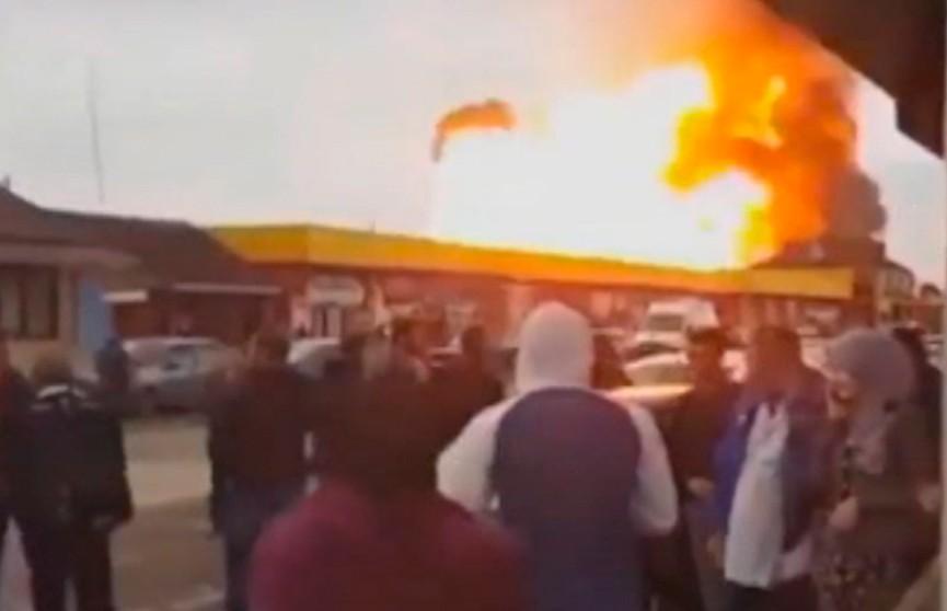 Причины взрыва на автозаправке расследуют в Чечне
