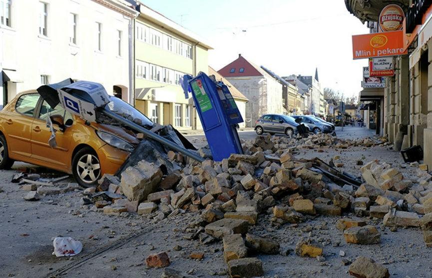 Землетрясение в Хорватии: из-под завалов спасены более 30 человек