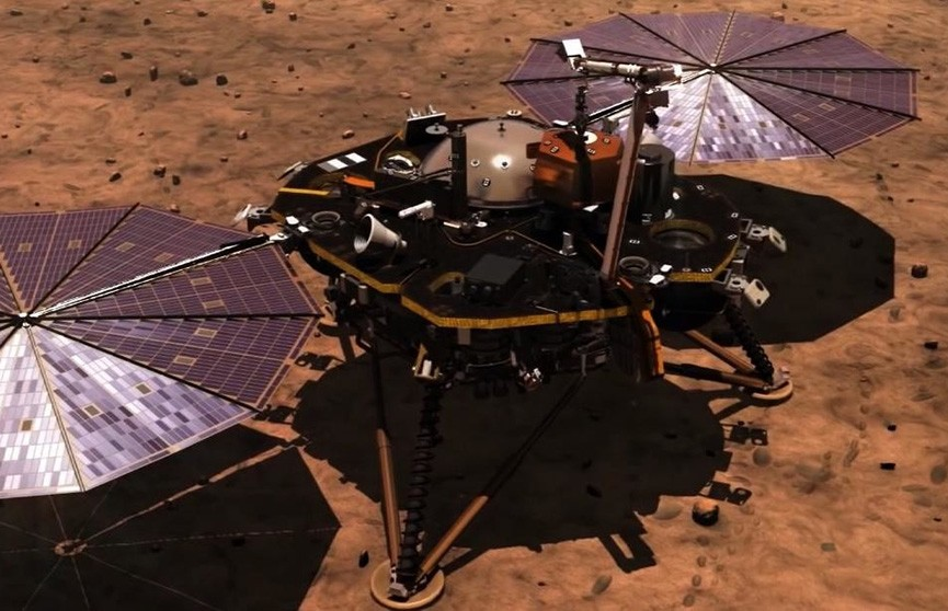 NASA успешно посадило аппарат InSight на Марс