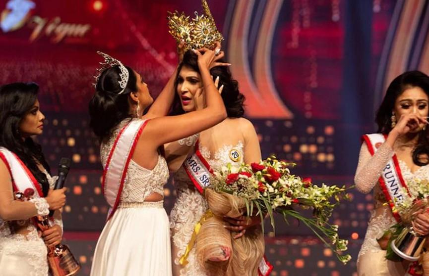 В Шри-Ланке арестовали «Миссис мира-2020» из-за инцидента с короной