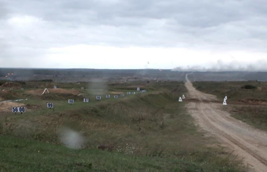 Возгорание на полигоне – двое военнослужащих получили ожоги