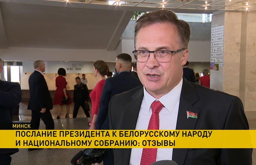 «Чувствовалось, что Президент как человек очень сильно переживает и за Беларусь, и за будущее страны». Мнения о Послании Президента к белорусскому народу и Национальному собранию