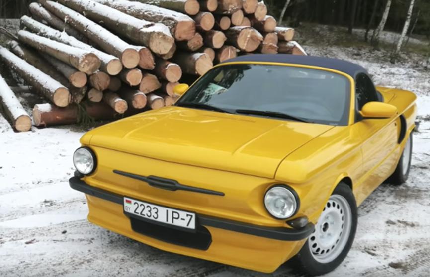 Porsche и «Запорожец» скрестили белорусские автолюбители (Видео)