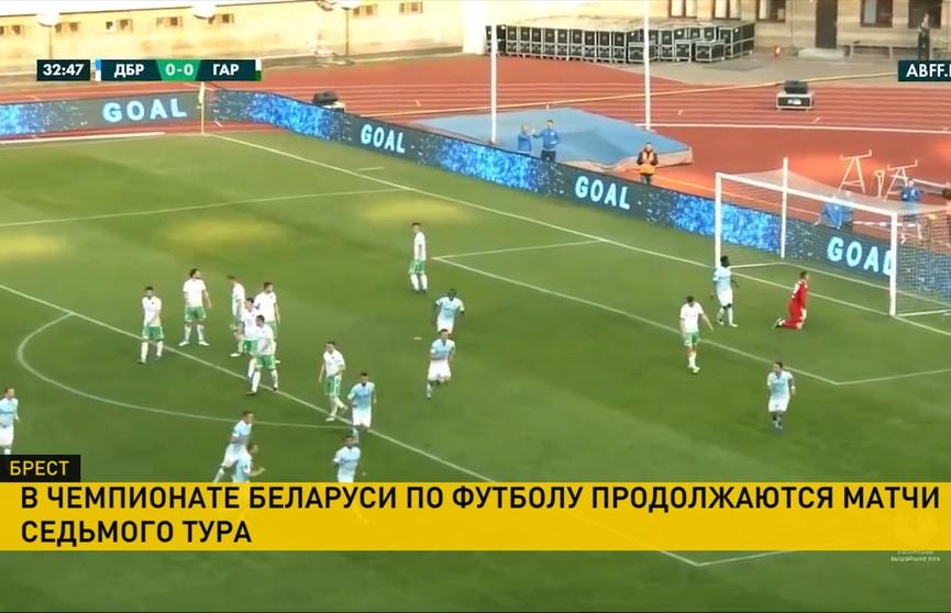 Брестское «Динамо» разгромило «Городею»