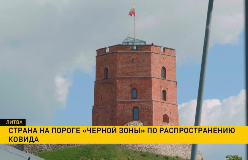 Литва находится на пороге «черной зоны» по распространению ковида