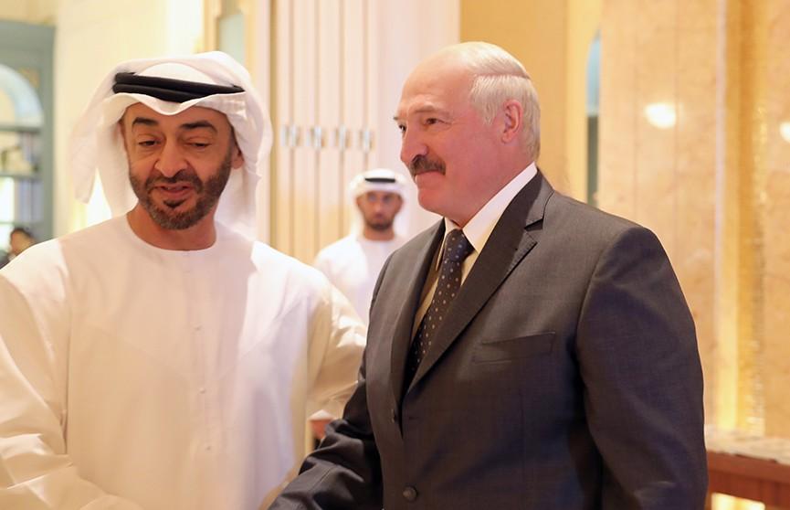 Лукашенко встретился с наследным принцем Абу-Даби