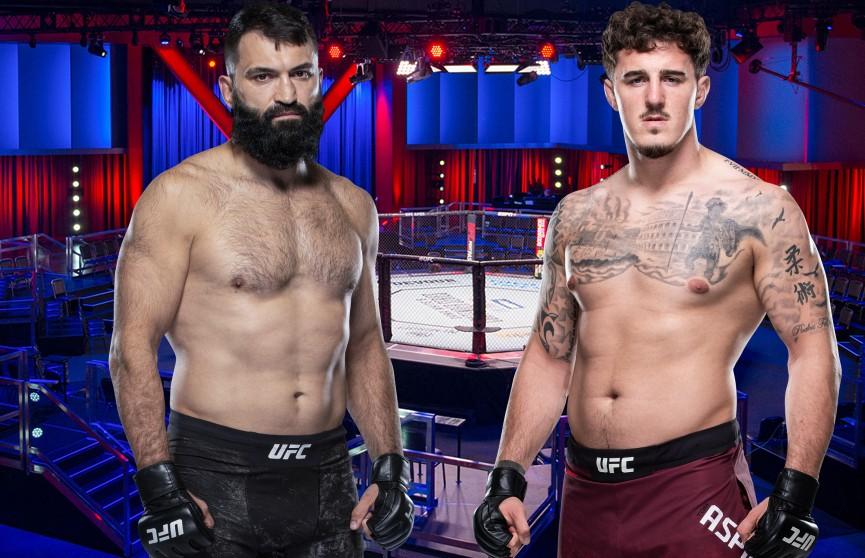 Андрей Орловский выступил на турнире UFC Fight Night 185