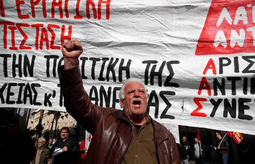 В Греции проходит масштабная забастовка