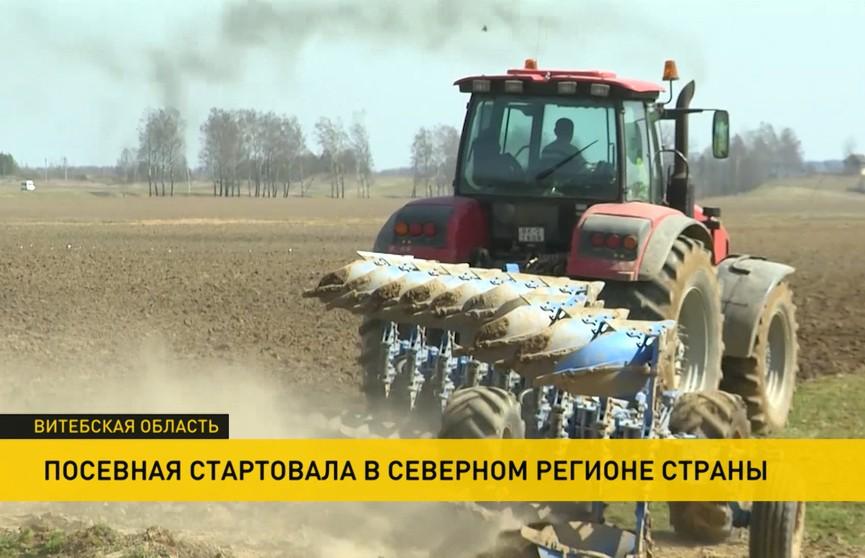 Все больше белорусских аграриев подключаются к посевным работам