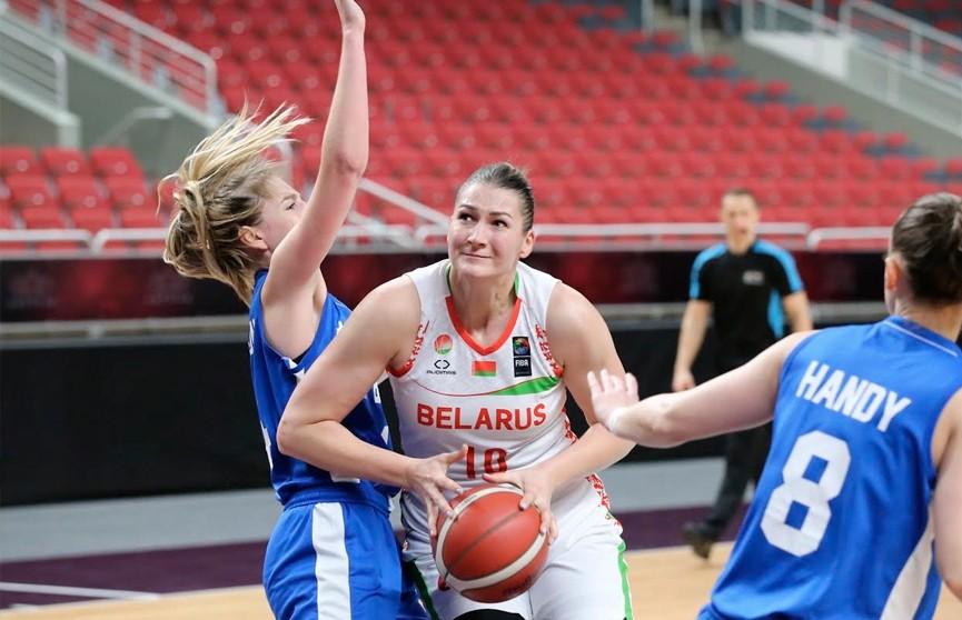 Белорусские баскетболистки победили сборную Великобритании в квалификации ЧЕ