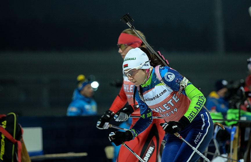 Ирина Кривко стала третьей в индивидуальной гонке на ЧЕ по биатлону в Раубичах