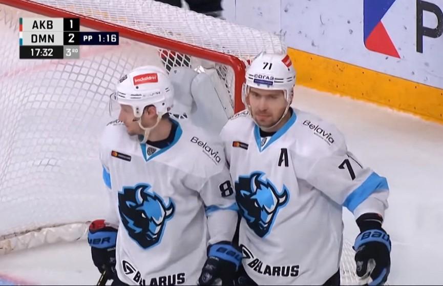 Хоккеисты минского «Динамо» сыграют с «Локомотивом» в КХЛ
