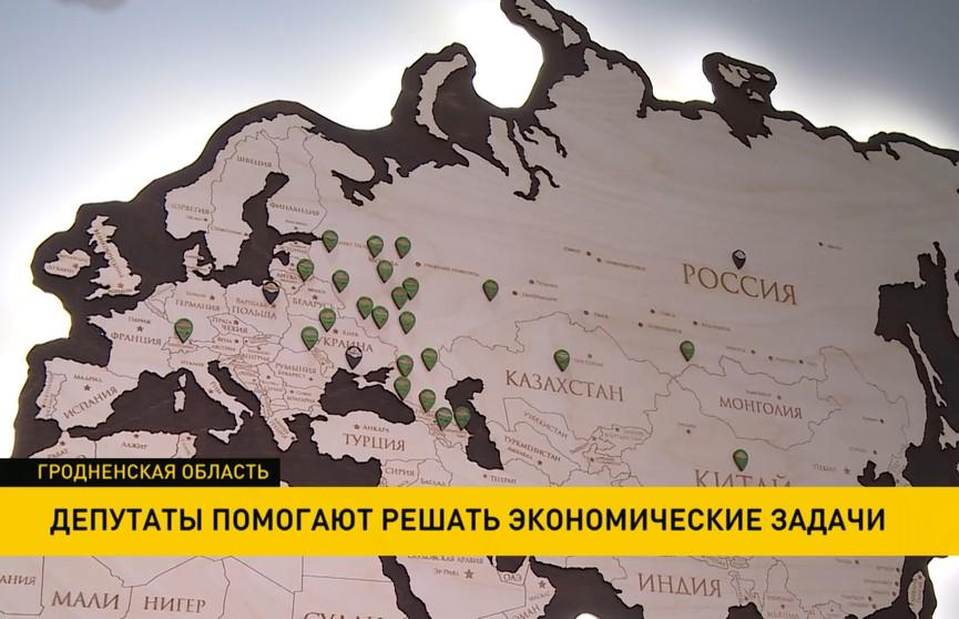 Депутаты в Гродненской области помогали решать экономические вопросы