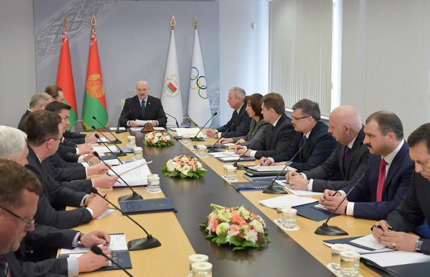 Александр Лукашенко: НОК несколько сбавил обороты, повеяло неким холодком